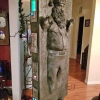 Star Wars - Santa in carbonite