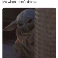 Baby Yoda - Drama