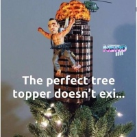 Die Hard Christmas Tree topper