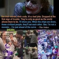 Coronavirus - The Joker forewarned about the Australian Toilet paper crisis