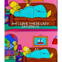 Simpsons - Lazy Saturday