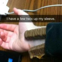 Twix up your sleeve
