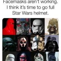 Coronavirus - Star Wars Helmets